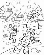 Kleurplaten Voor De Winter.Kleurplaten Kleurplaat Kleuren Gratis Kinderen Printen
